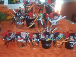 Halloween pails