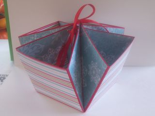 Red treat box